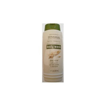 Silkience Spa Haus - Paraben Free Body Wash Oatmeal & Shea Butter - 16oz