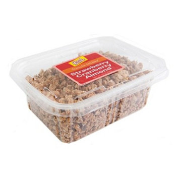 Strawberry Cranberry Almond Granola 16 oz