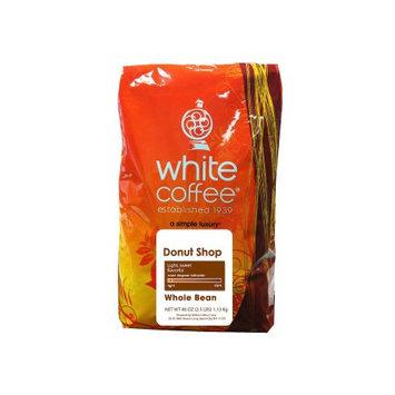 White Coffee Donut Shop Blend Whole Bean 2.5lbs.