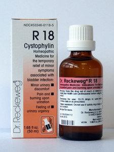 Cystophylin R18 50 ml by Dr. Reckeweg