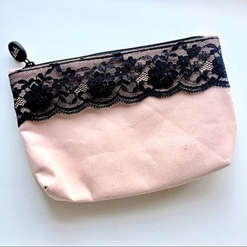 2018 Ipsy Glam Bag February Pink with Black Lace