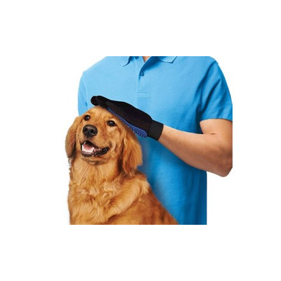 Medexlab Quality iPets Dog Cat Five Finger De-Shedding Glove (Pack of 3)