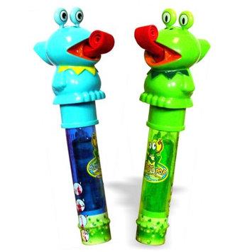Kidsmania - Ribbit Pop - Lollipop w/whistle - Green Apple, Watermelon, Blue Raspberry Flavors