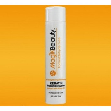 Keratin Protection System enriched with Argan Oil 16 oz.| Innovative Silky Smooth | Professional Nourishment | Straightening Hair | Keratin Care |