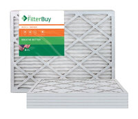 AFB Bronze MERV 6 27x27x1 Pleated AC Furnace Air Filter. Filters. 100% produced in the USA. (Pack of 6)