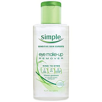 Simple Eye Make-Up Remover 125 ml by Simple
