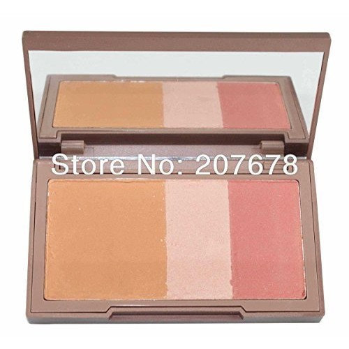 2015 NEW NAKED, Urban Brand Makeup Blush, Flushed Blusher , Bronzer &Highlighter &Blush 3 Diff Color by OEM Shop