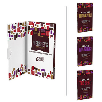 HERSHEY���S SPECIAL DARK Mildly Sweet Chocolate Appreciation Greeting Card Bar,6.8 oz (Messaging May Vary)