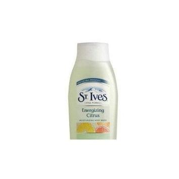 St. Ives Body Wash Energizing Citrus 18 Oz (Pack 2)