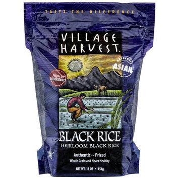 Village Harvest Authentic Asian Black Rice 16 oz