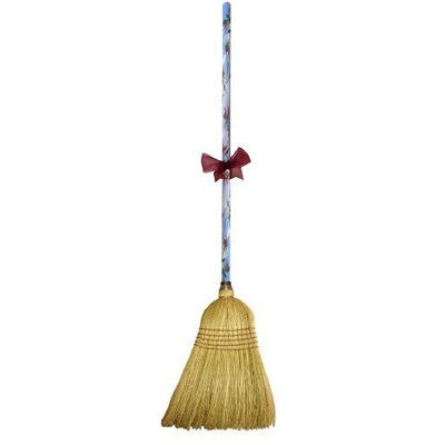 Cute Tools Garden Broom - Landscaping Instrument, Sweep and Dust With This Garden Accessory, Hand Painted Wooden Broomstick In The USA, Durable Yard and Gardening Equipment From CuteTools! - Art For A Cause, 7th Heaven