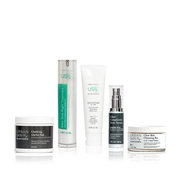 Urban Skin Rx Breakout and Oil Control Package Minimizing Pores, Preventing Future Breakouts, Skin Care Set