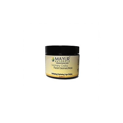 Mayur Naturals Honey and Oats All Natural Facial Cleanser and Mask
