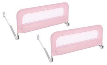 Summer Infant Single Fold Safety Bedrail - Pink - 2 Pack