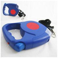 Hawk New 14.5 FT Retractable Dog Leash Flashlight Harness Pet Long Small Pet Collar