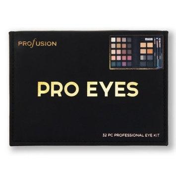 Profusion Cosmetics Pro Eyes Professional Eye Kit - 32pc