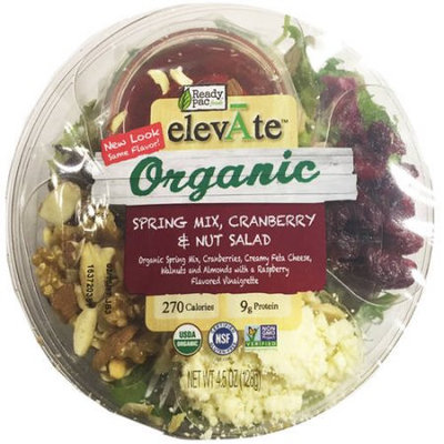 Ready Pac Produce Inc Organic Cranberry Walnut Salad, 4.5 oz