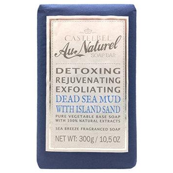 Castelbel Au Naturel Detoxing Exfoliating Dead Sea Mud Soap Bar