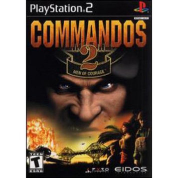 Eidos Commandos 2 Men of Courage - Playstation 2(Refurbished)