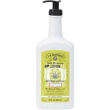 J.R. Watkins Daily Moisturizing Lotion Aloe & Green Tea, 18.0 FL OZ