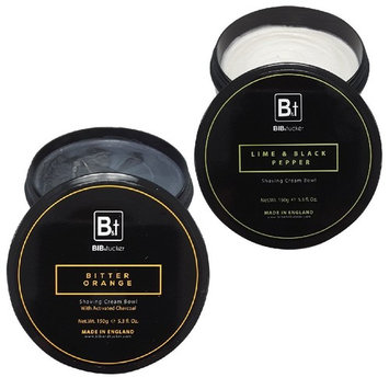 Bib & Tucker Shaving Cream: Lime & Black Pepper + Bitter Orange - Variety Pack
