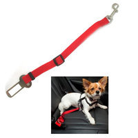 Qnp Rrg 1 Pet Seat Belt Dog Safety Adjustable Clip Car Auto Travel Vehicle Safe Puppy