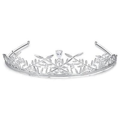 Trendy Luxury Queen's Crowns Jewelry For Women Top Quality Cubic Zirconia