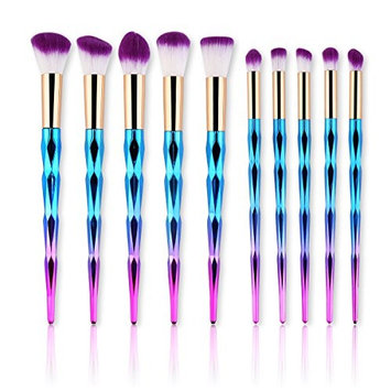 IMOSA Makeup Brush Set, Professional Makeup Brushes Cosmetic Premium Synthetic Face Eye Brush Set Perfecting Makeup Blending Brushes Set Foundation...