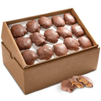 Golden State Fruit Bulk Pecan Clusters, Milk Chocolate Caramel, 5 Pound [Milk Chocolate Caramel]