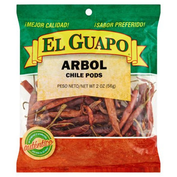 Mojave Foods Corp. El Guapo, Spice Chili De Arbol Wh, 2 Oz (Pack Of 24)