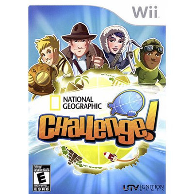 Thq National Geographic Challenge Wii Game IGNITION entertainment
