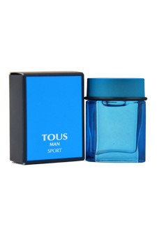 Tous Man Sport by Tous for Men - 0.15 oz EDT Spray (Mini)