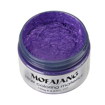 Sympath 2017 DIY Hair Clay Wax Mud Dye Cream Grandma Hair Ash Dye Temporary 7 Colors (G)
