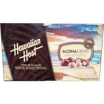 Hawaiian Host The Original chocolate Covered MACADAMIA NUTS BOX 16 OZ (454g)