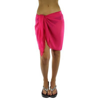 Luxury Divas Womens Short Sarong Wrap Cover Up