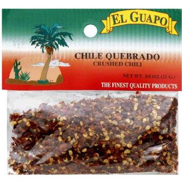El Guapo Crushed Chili, .75 oz, (Pack of 12)