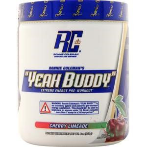 Ronnie Coleman Signature Series YEAH BUDDY - 30 Servings Cherry Limead
