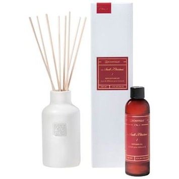 THE SMELL OF CHRISTMAS Aromatique Ceramic Vessel Reed Diffuser Gift Set