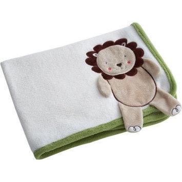 Crown Crafts Fisher-Price Luv U Zoo Lion Blanket Sage 30