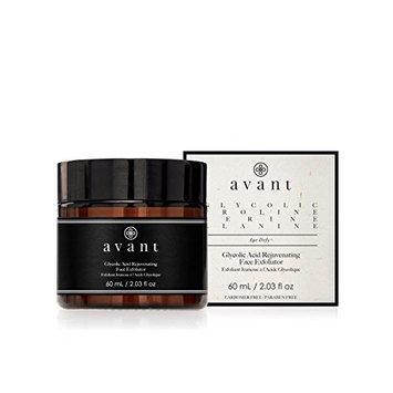 AVANT Glycolic Acid Rejuvenating Face Exfoliator AV028 Black Unisexe Perm