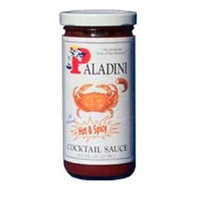 Paladini Quality Seafood Sauces 72003 All Natural Hot & Spicy Cocktail Sauce - Pack of 12