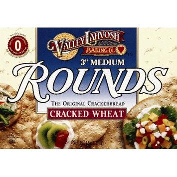 VALLEY LAHVOSH 95574 4.5 oz. Cracker Round 3 in. Cracked Wheat