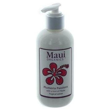 Maui Organics Plumeria Passions Tropical Lotion 8.5 oz.