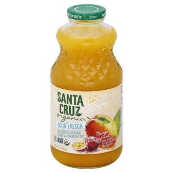 Santa Cruz Organic 1818632 32 fl oz Agua Fresca Mango Passionfruit - Case of 12