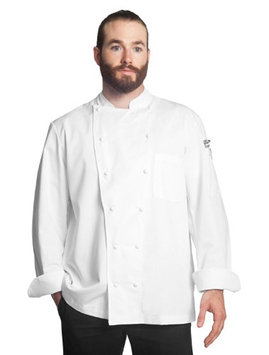 Bragard Men Alfredo Long Sleeve Double Breasted Chef Jacket Poly Cotton
