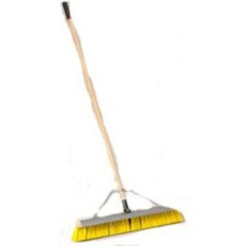 Mintcraft Pro 1434ASCOR Push Broom With Brace 24-Inch Scraper - Each