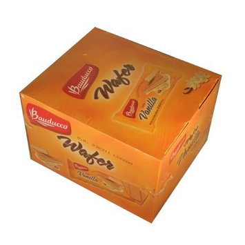 Bauducco Mini Wafer Cookies, Vanilla Wafers, Ideal Dessert, Snack, Pastry, School Lunches, Family Gathering, Party Snack, Work Lunch [Vanilla]