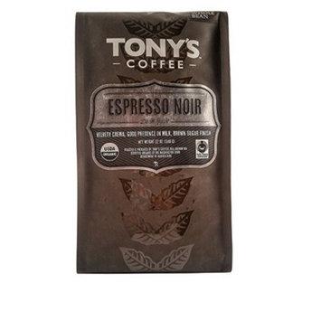 Tony's Coffee Espresso Noir Whole Bean Coffee - 12oz