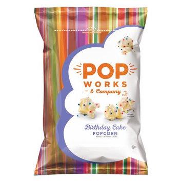Frito Lay Popworks Birthday Cake Popcorn Pack 4 ct Multipack, 8.0 oz bags