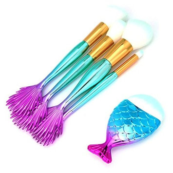 Becoler Makeup Brushes Premium Foundation Makeup Brushes 5 Pieces